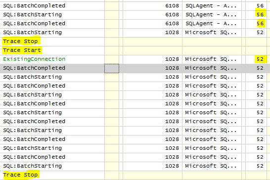 how to read sql profiler trace file