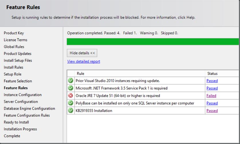 SQL Server 2016 CTP2 Setup